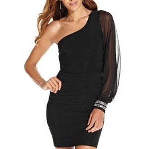 Ruby Rox One Shoulder Dress NWOT